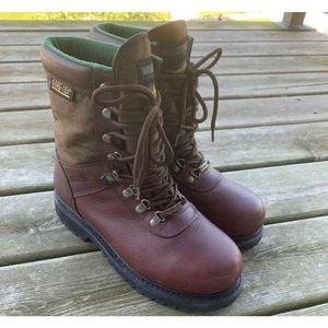 Wolverine 03850 Non Slip Work Boots Brown US 9.5